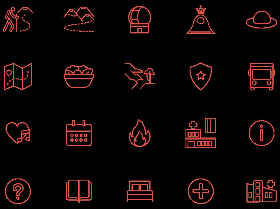 TENEGUIA Iconos