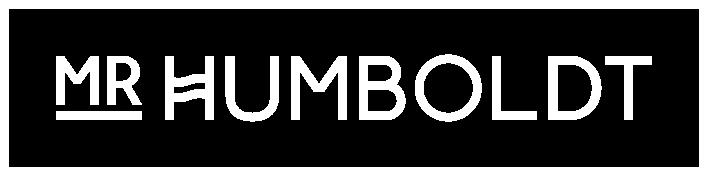 mr humboldt logo white bordered